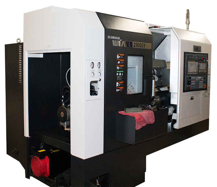 Introducing Our New CNC Turning Center: Hyundai-WIA L2100SY
